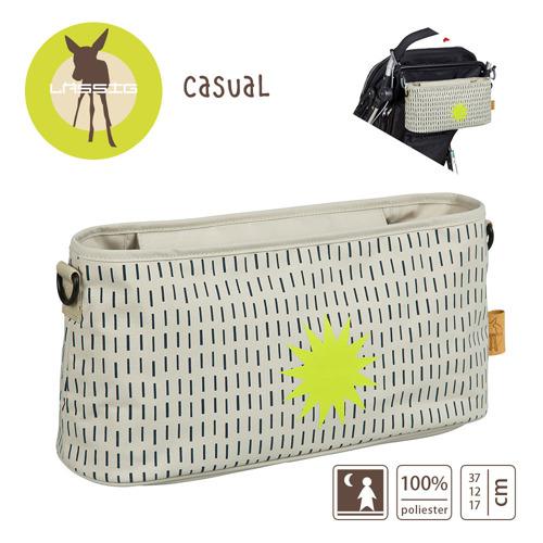 Lassig - Casual Label Organizer do Wózka Dots & Strokes sand