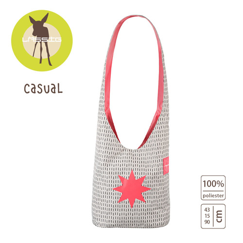 Lassig - Casual Label Torba Fan Shopper Twinkle dubarry