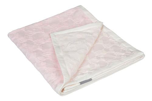 Lassig - Ekologiczny Kocyk SeaCell Lela pastelowy różowy