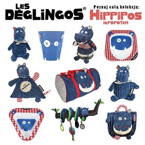 Les Deglingos - Torba Podróżna Hipopotam Hippipios