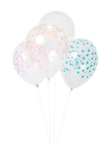 Meri Meri – Balony Gwiazdki kolorowe