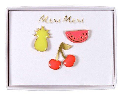 Meri Meri – Przypinki Owoce