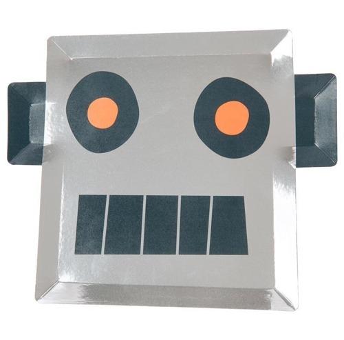 Meri Meri - Talerzyki Robot