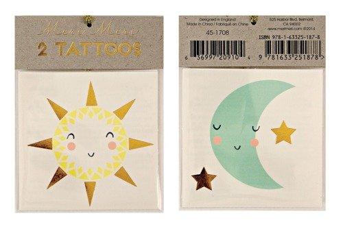 Meri Meri – Tatuaże Słońce i księżyc