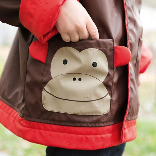 Skip Hop - Płaszcz przeciwdeszczowy Zoo Małpa