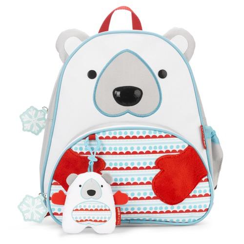 Skip Hop - Plecak Zoo Winter Miś Polar z zawieszką