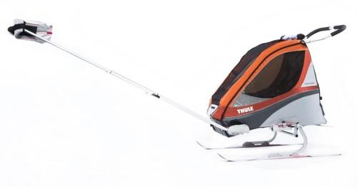 THULE Chariot - Zestaw do uprawiania narciarstwa biegowego i pieszych wędrówek