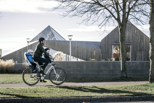 THULE - Yepp Nexxt Mini fotelik rowerowy - biały