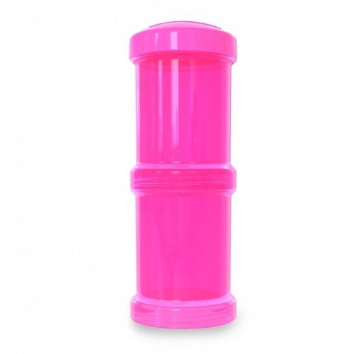 Twistshake - Pojemnik 2x100ml Różowy