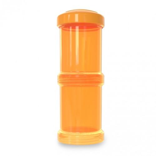 Twistshake - Pojemnik 2x100ml, pomarańczowy