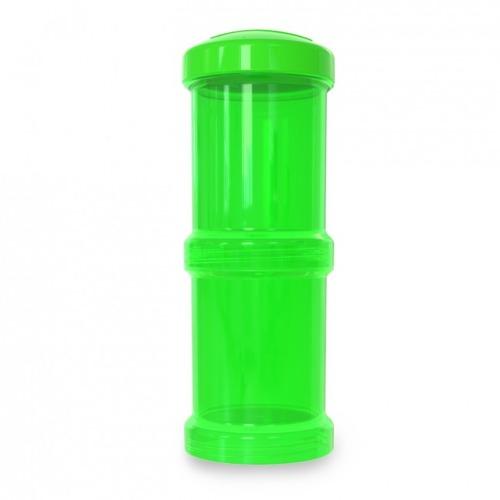 Twistshake - Pojemnik 2x100ml, zielony