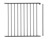 Baby Dan - Rozszerzenie bramek FLEX M, L, XL, XXL - 72cm, czarny