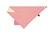 Lassig - Apaszka z Silikonowym Gryzakiem Zigzac red