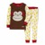 Skip Hop - Piżama Zoo Małpa 3T